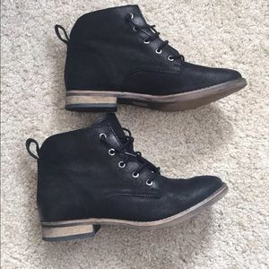 Diba Black Booties